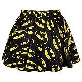 GD-GOLD Digital Flower Print Midiskirt mini skirt-batman