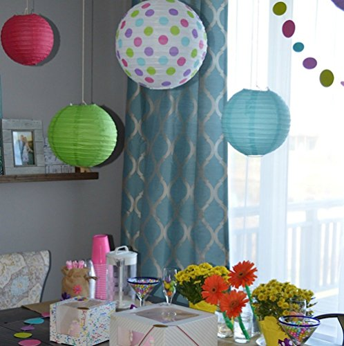 Bobee Paper Lanterns for Birthday Party Baby Bridal Shower ...
