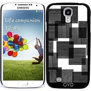Funda para Samsung Galaxy S4 (GT-I9500/GT-I9505) - Cuadrados De Madera by hera56