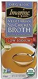 Imagine Organic No Chicken Broth, Low Sodium, 32 oz