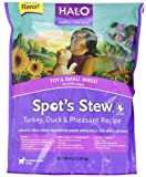 Halo Spot's Stew Dry Recipe for Small Breed Dogs, Turkey, Duck and Pheasant, 4-Pound, My Pet Supplies