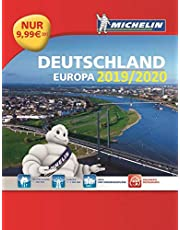 Michelin Straßenatlas Deutschland & Europa 2020/2021 (MICHELIN Atlanten)