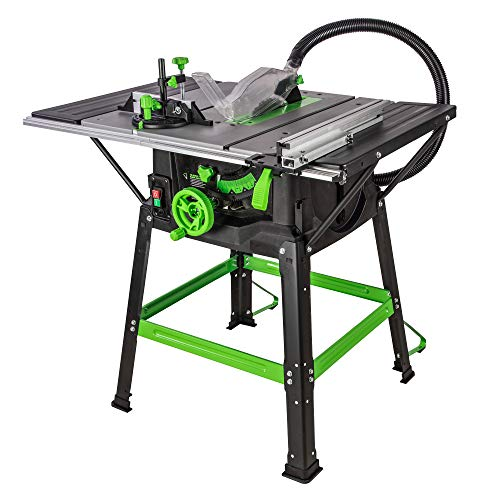 Evolution Power Tools Fury 5-S Table Saw With Multi-Material Cutting, 1500W, (230 V)