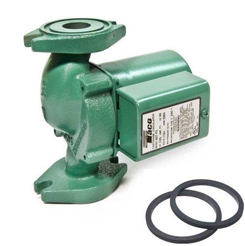 Circulator Iron Pump Cast (Taco 007-F5 Cast Iron Circulator, 1/25 HP)