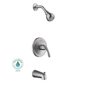 Glacier Bay Builders 1 Handle 1 Spray Tub and Shower Faucet in