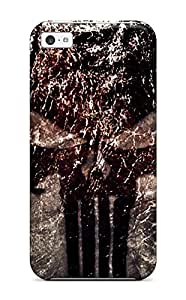 LastMemory Case Cover Iphone 5c Protective Case Punisher Logo