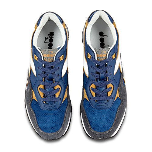 Diadora Unisex-Erwachsene N-92 WNT Gymnastikschuhe Blau / Beige