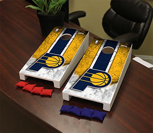 Victory Tailgate Indiana Pacers NBA Desktop Mini Cornhole Game Set by Victory Tailgate