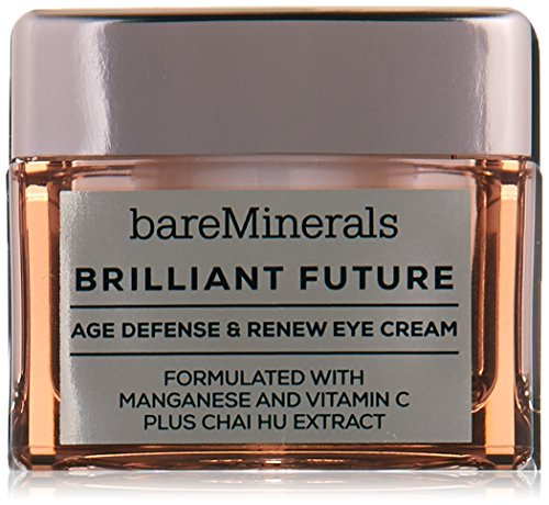 bareMinerals Brilliant Future Age Defense and Renew Eye Cream, 0.5 Ounce
