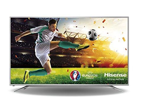 Hisense H65MEC5550 163 cm (65 Zoll) Fernseher (Ultra HD, Triple Tuner, DVB-T2 HD, Smart TV) grau