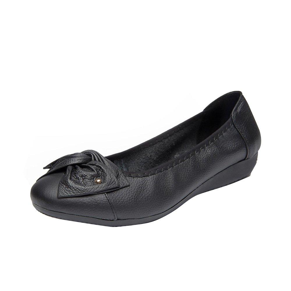 OCHENTA Femme Mocassins Ballerines Confortable Chaussures de 6950 Travail B07H7QWFKB Mocassins Femme Semelle Epaisse Noir 6132b91 - reprogrammed.space