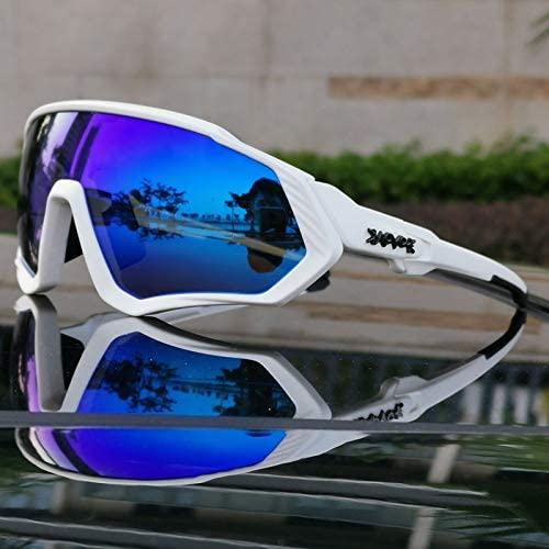 Weizy Gafas de Sol Polarizadas for Ciclismo MTB, Gafas for ...