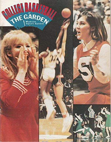 College Basketball at Madison Square Garden Program February 19th, 1977 Iona vs USF, Rutgers vs Cincinnati, and Seton Hall vs UNC Charlotte from None