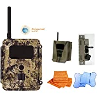 Cost Saving SPARTAN gocam Pre-packaged- AT&T Blackout Infrared Version (#GC-ATTb) Bundle with Security Box, Swivel Mount and Branded Microfiber Towels