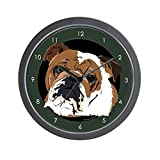 CafePress – Old English Bulldog – Unique Decorative 10″ Wall Clock Review