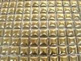 Glazed Ceramic Mosaic Tiles.10 x 10mm tiles. Gold. 196 tile pack.
