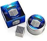 5MM 216PCS Magnetic block ball cube Magnet Sculpture Stress Relief for Desk fridge || Metal Box to Storage