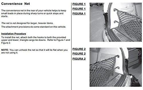 Envelope Trunk Cargo Net For Buick Enclave 2008-2017