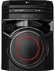 LG XBOOM ON2DN Party-luidspreker, Onebody geluidssysteem (Bluetooth, HDMI, karaoke-functie), zwart [modeljaar 2020]
