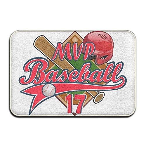 Home Door Mat MVP Baseball Doormat Door Mats Entrance Rugs Anti Slip 4060 For Indoor Outdoor -