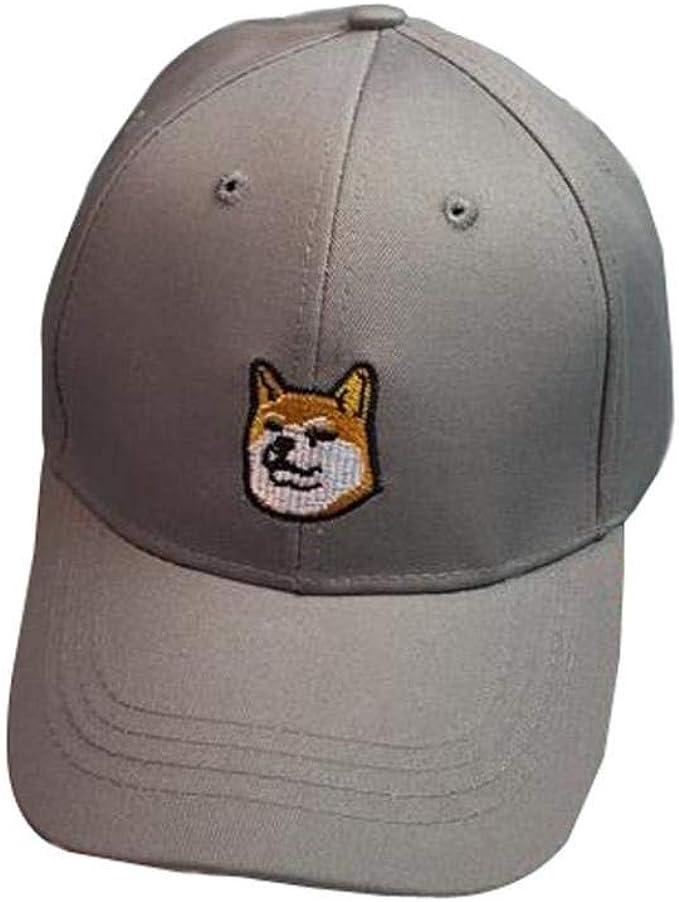 Gorra De Béisbol Unisex Lindo Perro Expresión Bordado Gorras ...