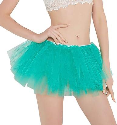 Falda Corta para Mujer Plisada Gasa Falda Corta tutú Baile Baile ...