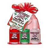 vinylux nail polish remover - Piggy Paint Nail Polish Gift Set, Mistletoes