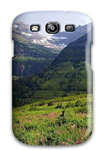 Hot Case Cover Protector For Galaxy S3- Glacier National Park 1476178K38733700