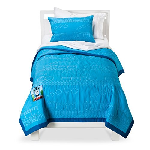 Thomas the Tank Engine Twin Size Quilt and Sham Set by HIT