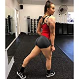SEASUM Wome n Sports Short Booty Sexy Lingerie Gym