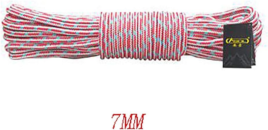 GAIXIA Cuerda de Escalada, Cuerda estática, Escalada Exterior ...