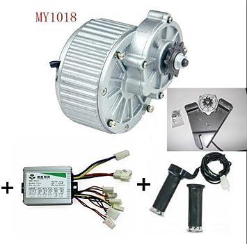 sarach store MY1018 450W 24V Motores eléctricos para Bicicletas ...