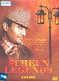 Screen Legends Dev Anand :The Evergreen Legend of Indian Cinema (Vol 1): Original Videos of Hindi Film Songs (Set of 2 DVDs)