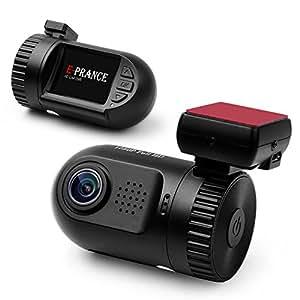E-PRANCE® Mini 0801 Car DVR Dash Camera Ambarella A2S60 Chip 5M pixel CMOS + GPS Logger + High Resolution Full HD 1080P 30 FPS + G-sensor + License Plate + 135 Degree Wide Angle View