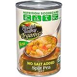 Health Valley, Organic, Split Pea Soup, No Salt Added, 15 oz (425 g) - 2PC