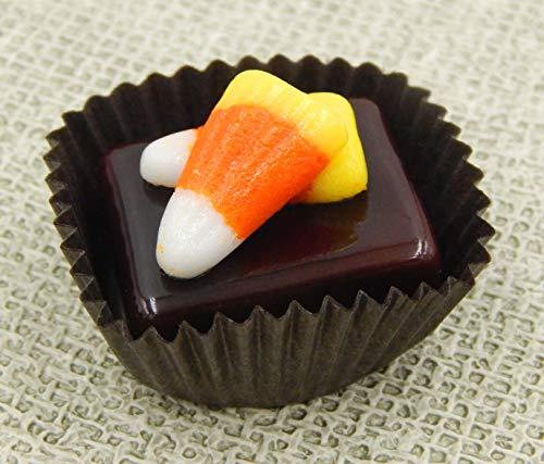 Candy Corn Art (Halloween Candy Corn Collectible Art Glass Chocolate)