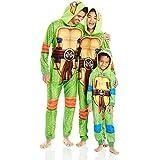 Nickelodeon Little Boys' Toddler Ninja Turtles Uniform Union Suit, Green, 3T