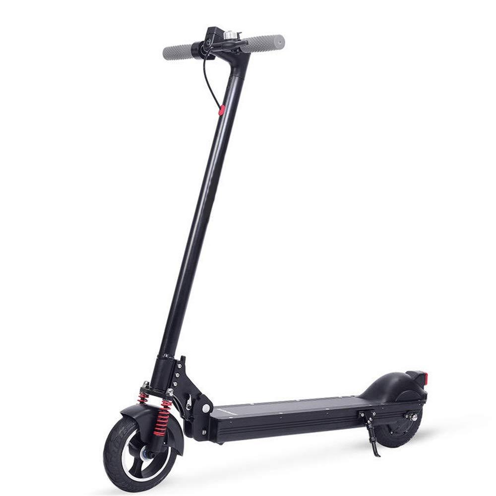 電動スクーターの通勤 36V 350W 20.8Ah折りたたみ電動スクーターDCブラシレスモーター毎時25キロマックス。速度60キロの走行距離範囲最大負荷120キロ (色 : ブラック, サイズ : ワンサイズ) ブラック ワンサイズ