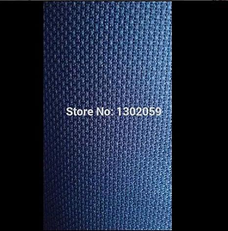 Color: Black, Size: 50x50cm, Cross Stitch Fabric CT Number: 16CT Zamtac Cross Stitch Canvas Aida Cloth Fabric