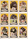 San Diego Chargers 1990 Fleer Football Team Set w/ Update***Premier Issue*** Cards (Junior Seau Rookie) (Gary Plummer Rookie) (Jim MaMahon) (Gil Bryd) (Anthony Miller) (Leslie O'Neal) and More