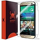 HTC One mini 2 Screen Protector + Full Body (One Remix), Skinomi TechSkin Full Coverage Skin + Screen Protector for HTC One mini 2 Front & Back Clear HD Film