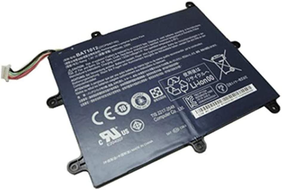 TYJYUN New BAT1012 Laptop Battery 7.4V 24Wh 3280mAh Compatible with Acer Iconia Tab A200 A210 Tablet PC BAT-1012 2ICP5/67/90
