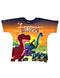 Blippi Child Dinosaur Shirt for Kids (4T)