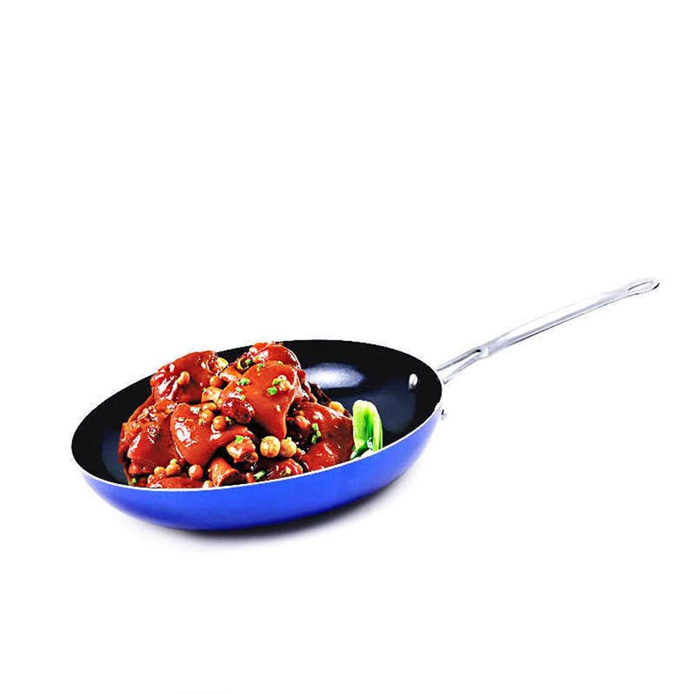 Sartén Antiadherente, Diamond Pan, Utensilios de cocina de aluminio Todas las placas multifunción Recubrimiento de tecnología de grado alimenticio, ...