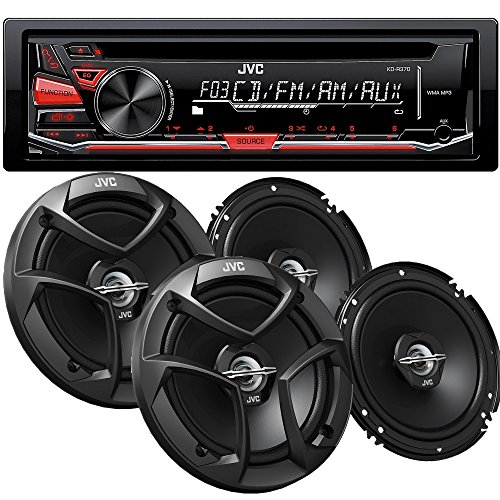 JVC KD-R370 CD with 6.5 CSJ260 Speakers