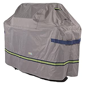 """Duck Covers Soteria Rainproof 67"""" Wide Grill Cover"""