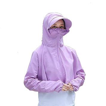 BesserBay Damen Full-Zipper UV Schutz Shirts Rash Guard Kapuzenshirt f/ür Schwimm