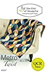 Metro Twist Quilt Pattern: A Contemporary Quilt Design Pattern Using the Quick Curve Ruler by Sew Kind of Wonderful