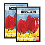 FrameMaster 24x36 Poster Frame (1-Pack); Pre-Assembled with Sturdy MDF Backer Board, Black