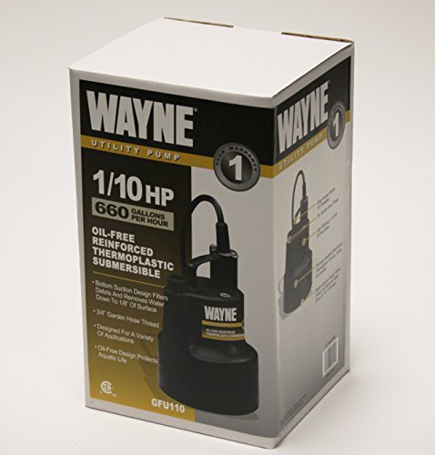 wayne-gfu110-portable-light-duty-electric-water-removal-pump